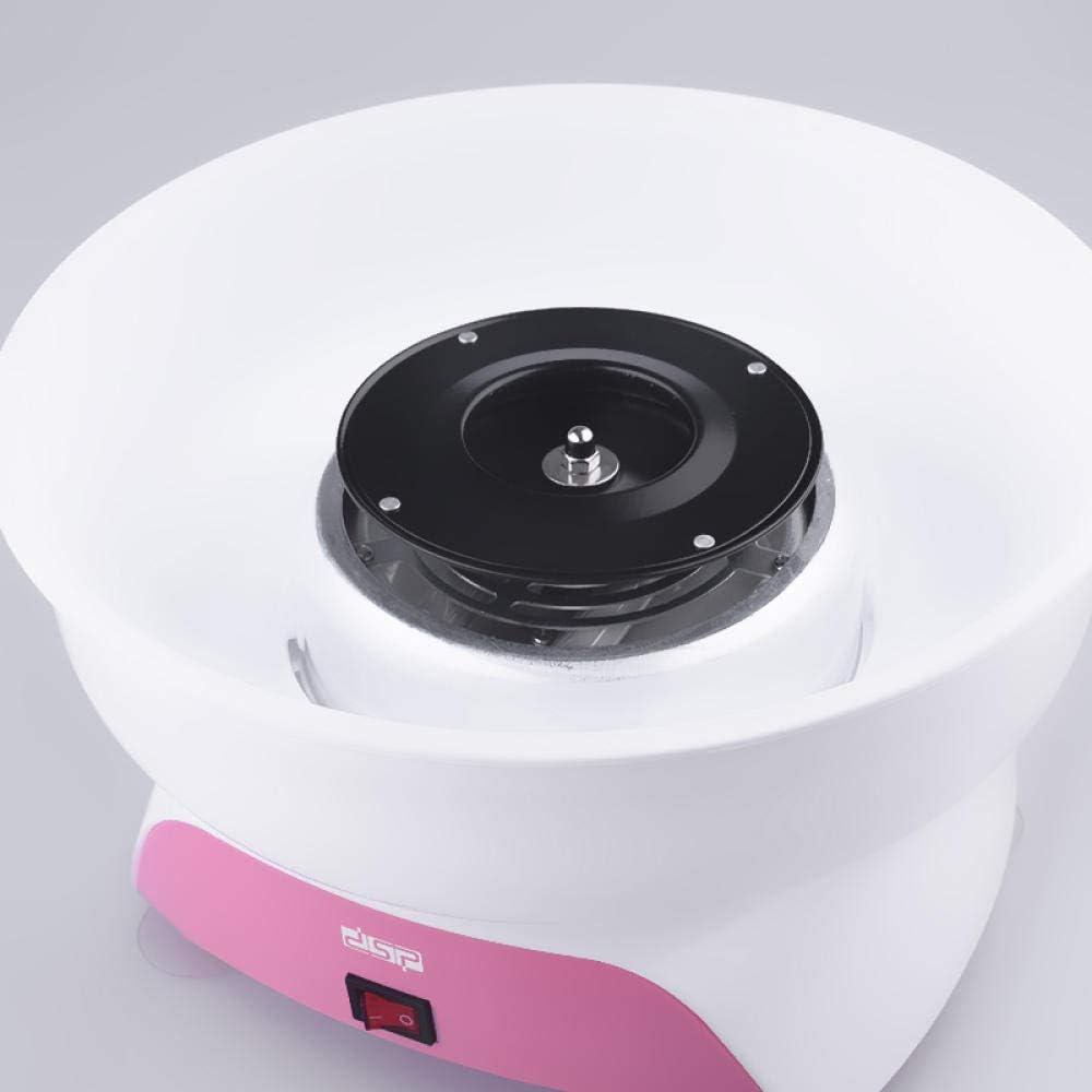 Maquina De Algodon De Azucar | Diy Kids Snacks Máquina De Algodón De Azúcar Profesional 220-240V 450W-Rosado|Retro Cotton Candy Machine: Amazon.es: Hogar