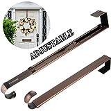 HEYHOUSE Wreath Hanger,Adjustable Length 14.9-25