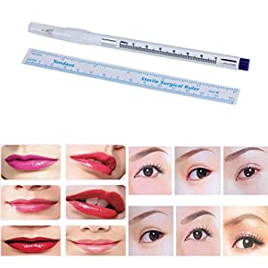 Marker Pen For Surgical Skin, Scribe Tool for Tattoo Piercing Permanent Makeup by Bolayu