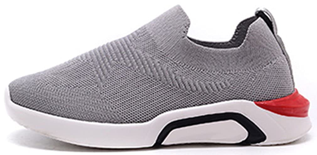 VECJUNIA Kids Fashion Sports Shoes Breathable Comfy Slip-On Outdoor Hiking