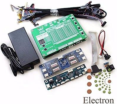 Probador Panel Kit para Soporte Técnico de TV Reparación 7-84 60 Programas w / VGA DC LVDS Cables inversor Liku técnicas del monitor LCD TV Laptop LED: Amazon.es: Electrónica