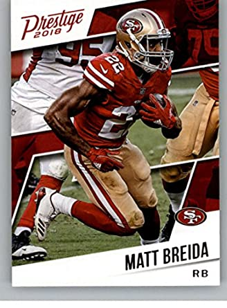 ae731fe75 2018 Prestige NFL #5 Matt Breida San Francisco 49ers Panini Football Card