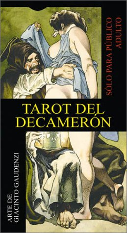 Decameron Tarot (English and Spanish Edition) (Spanish Cards Tarot)