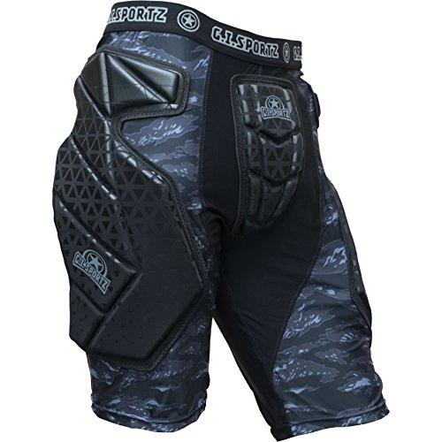 GI Sportz Race 2.0 Slide Shorts Black (Large) (Best Paintball Slide Shorts)