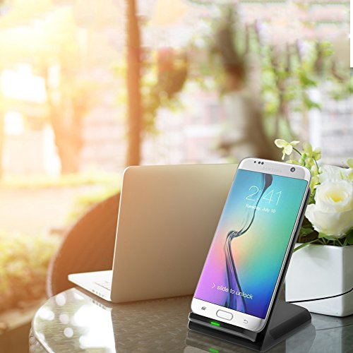 good Fast Wireless Charger, Mifanstech 2 Coils Qi Wireless