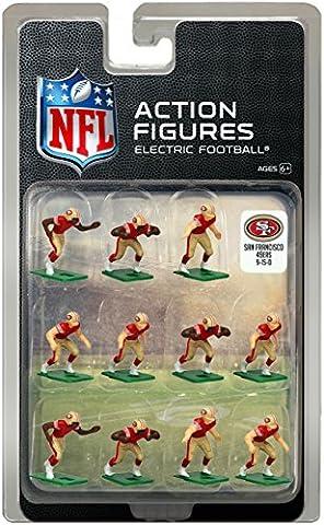 San Francisco 49ersHome Jersey NFL Action Figure Set - San Francisco 49ers Nfl Football