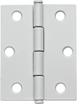 2 x 2-1//2 Oil Rubbed Bronze Flat Tipped Butt Hinge w//Removable Pin