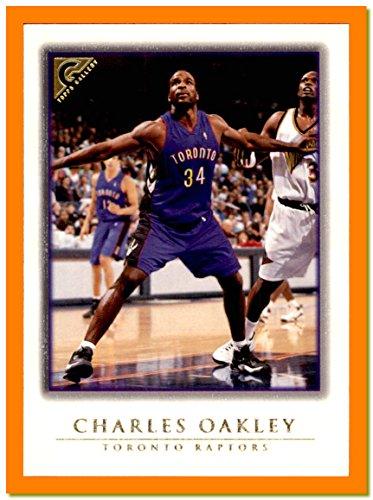 1999-00 Topps Gallery #72 Charles Oakley TORONTO - Raptor Oakley