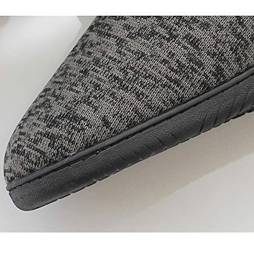 Dimensione Dimensione Pantofole Confortevole Slipper casa Grigio Stivali Stivaletti Design Inverno da 39 40 Indoor Booty Donna Calda Pantofole Semplice Aszhdfihas Home da UdTZ8xqU