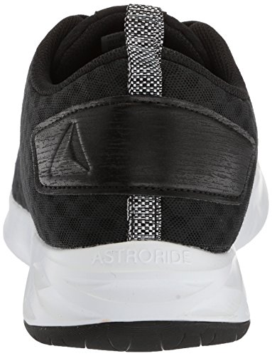Reebok Mens Astroride Soul Sneaker Nero / Bianco Bianco