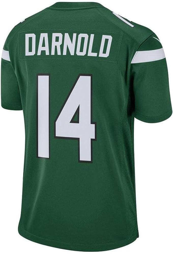 Nike Mens Sam Darnold New York Jets Gotham Green Game Jersey Small
