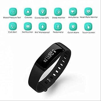 Reloj De Pulsera inteligente, OLED Fitness Armband, – Rastreador de fitness con pulsómetro,