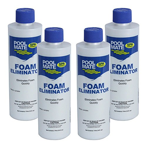Pool Mate 1-2470SPA-06 Foam Away for Spas and Hot Tubs (6 Pack), 1 Pint ()