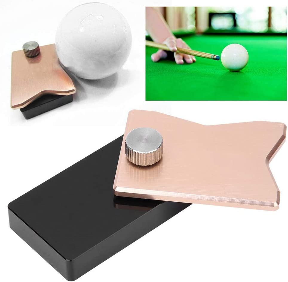 Vbest life 1 pcs Aluminum Alloy Billiard Position Marker Professional Pool Snooker Cue Ball Positioner Accessory Tool