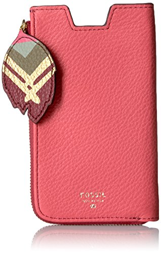 Fossil Phone Slide Wallet, Rose