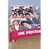 One Direction Craze Double Panel Duvet Set