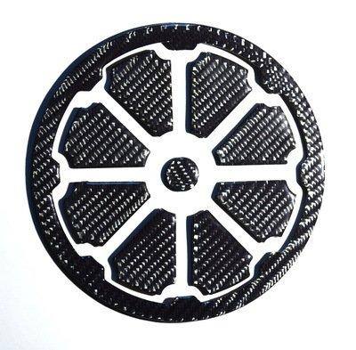 RZ Moto Ducati Diavel Clutch Cover Trim Real Carbon Fiber Sticker Guard