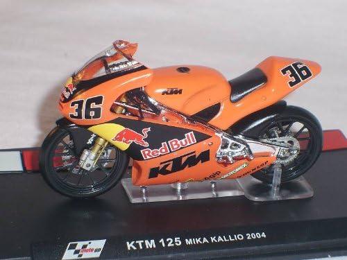 Ixo K T M 125 Mika Kallio 2004 Motogp 1 24 Altaya By Model Motorbike Model Spielzeug