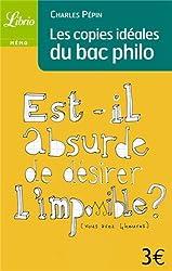 Les copies idéales du Bac philo