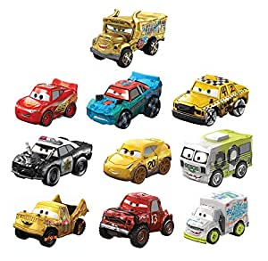 Disney Pixar Cars Mini Racers Derby Racers Series 10 Pack