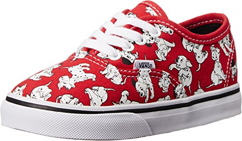Vans Kids Disney Red Skate Shoe - 4 M US Toddler