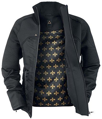 Musterbrand Deus Ex Veste Homme Rider Futuristic Design Noir L