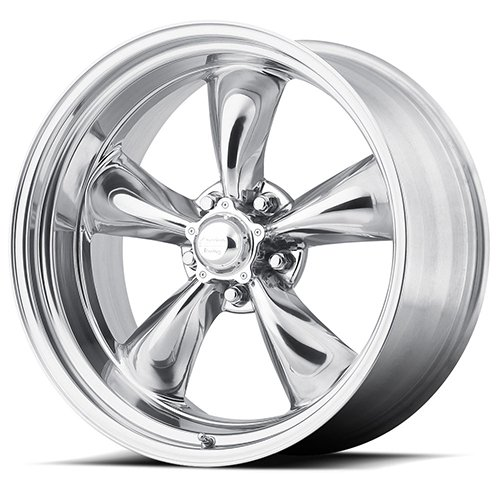 (American Racing Hot Rod Vn515 Torq Thrust Ii 1 Pc Polished 14x7 5x114.3 00et 83.06)