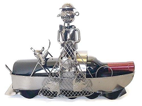 Fish Metal Wine Rack - 8