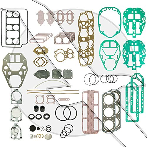 (Engineered Marine Products XR4 2.4L Powerhead Overhaul Gasket Set Kit Mercury Outboard 27-11338A88 18-4319)
