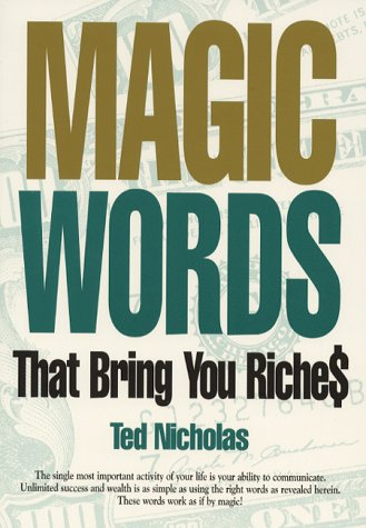 Magic Words That Bring You Riches by Brand: Nicholas Direct Inc