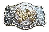 chicken belt buckle - Western Cowboy Two Chicken Belt Buckle #85SPI
