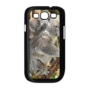 Samsung Galaxy S3 9300 Cell Phone Case Black Koala Q0290429