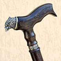 Eagle Walking Cane Fashionable Wooden Walking Stick Custom Canes Length Unique Walking Staff Aids Gifts for Grandpa
