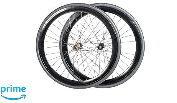 Vilano - Rueda Fixie 700C para bicicleta, velocidad única, noir - Noir