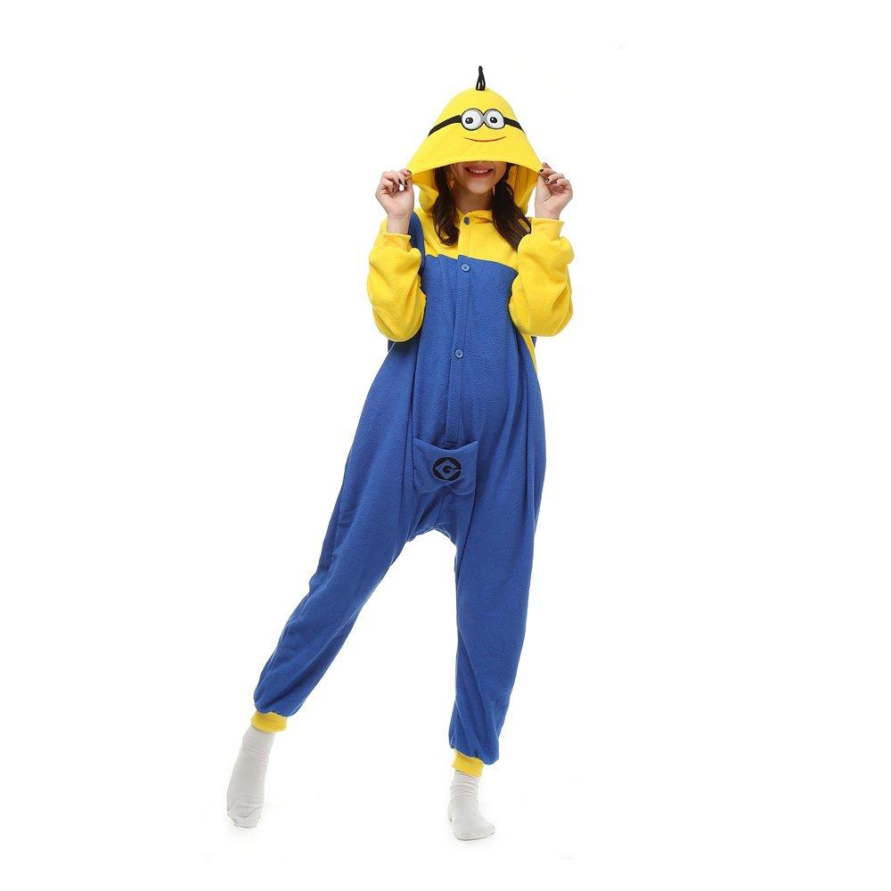 Sanling- Unisex Adult Kigurumi Pajamas Cosplay Polar Fleece Onesies