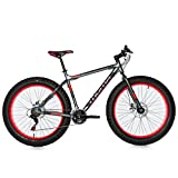 Bicicleta Fat Bike 26 x 4.0 Aluminio Shimano 21v