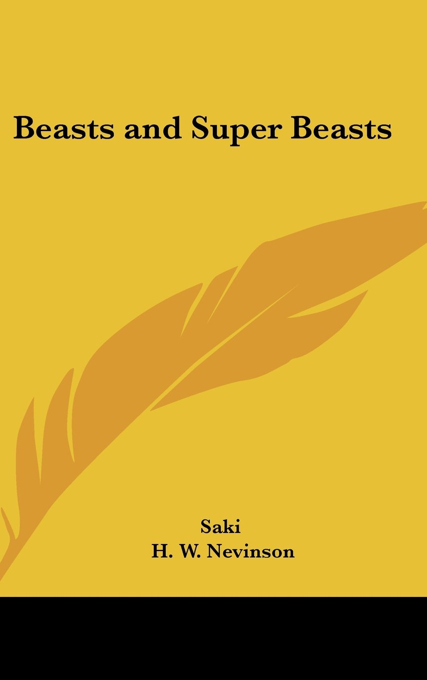 Read Online Beasts and Super Beasts pdf epub