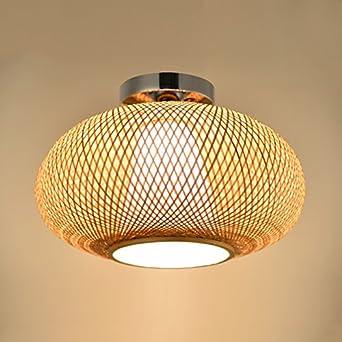 Mode Deckenbeleuchtung Bambus Strick Rattan Kunstliche Strick