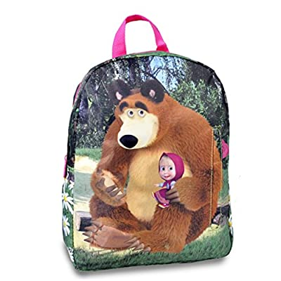 Masha and The Bear School Backpack Children outlet