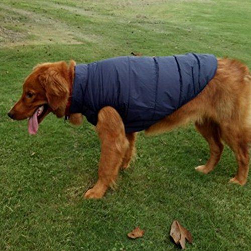 Hundemantel, 7 Größe Winter winddicht Super Warm Fleece Puppy Jacke ...