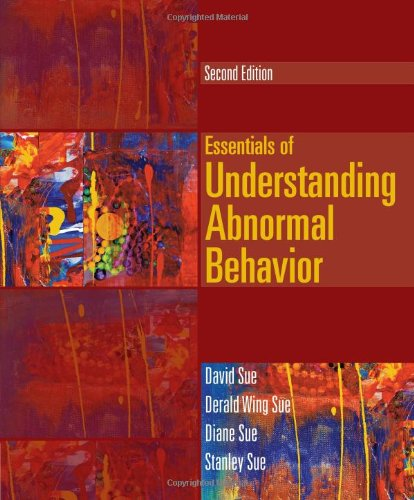 Essentials of Understanding Abnormal Behavior (Cengage Advantage Books)