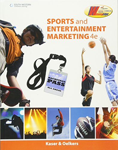 Sports and Entertainment Marketing