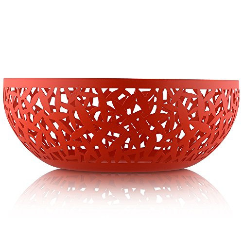 """Alessi MSA04/29 R""""""""Cactus!"""" Fruit Bowl, Red"""