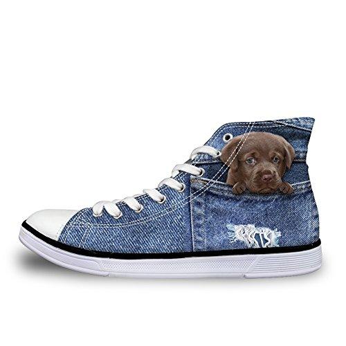 Dog 2 a Donna Stivaletto Pantofole Denim Coloranimal qAHSwR4w