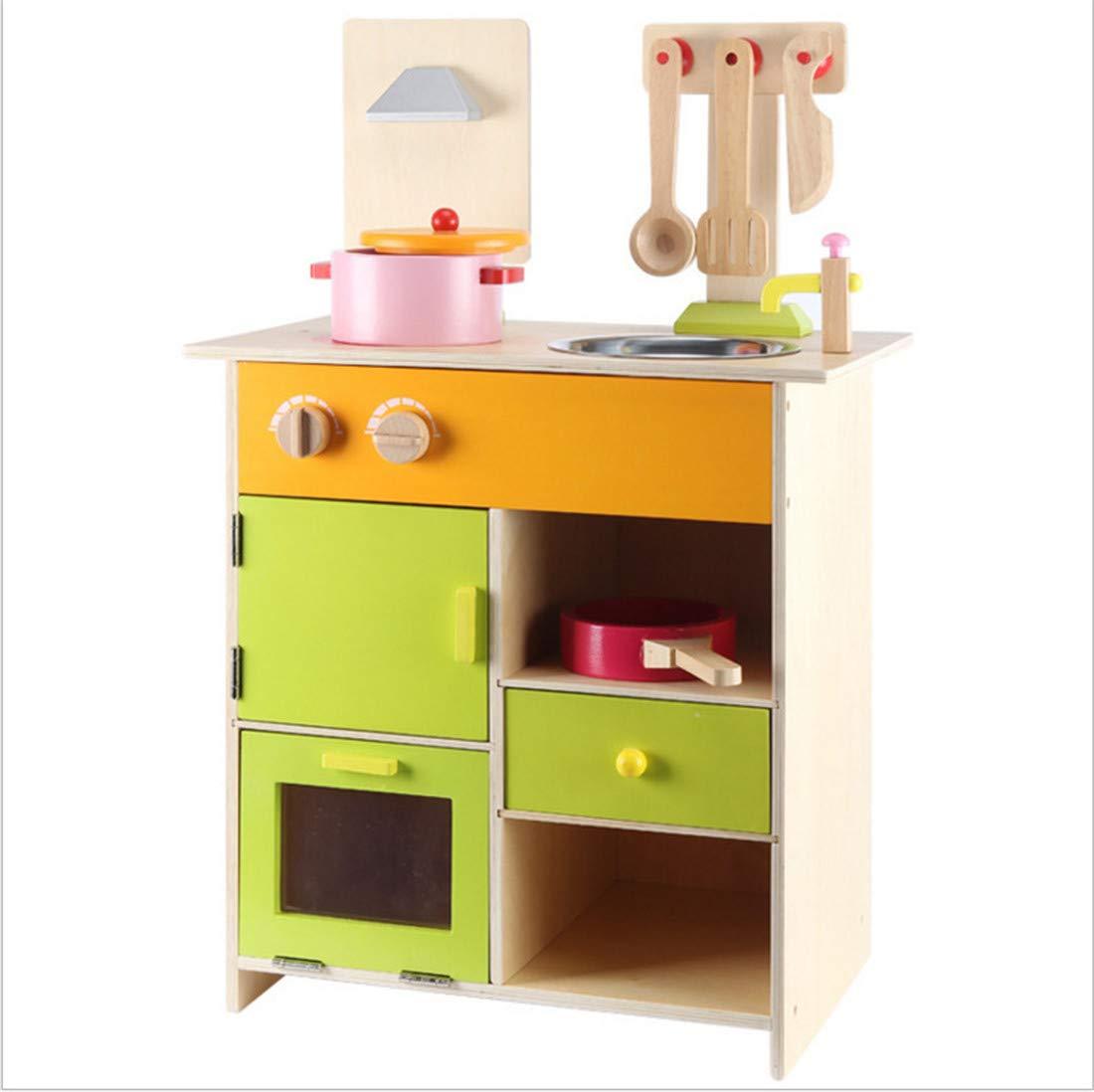 Kinderspielküche Hölzern KüChenzubehöR Mikrowelle Pretend KüChe Lebensmittel Lebensmittel Lebensmittel Kochen ZubehöR Chef Rolle Spielzeug 7ac809
