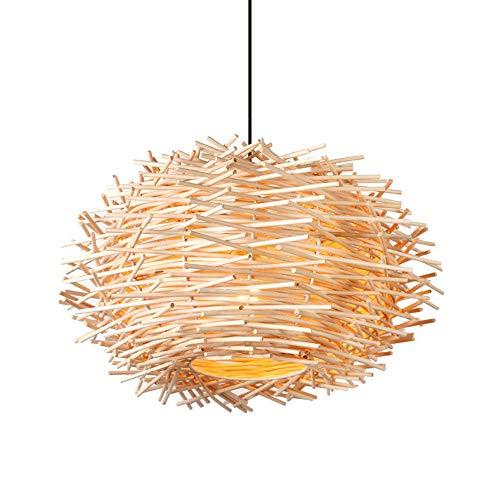 Modern Design En Bois Art Pendentif LumièRe Creative Cany Art Pendentif LumièRe Foyer Lampe Salle à Manger Loft Pendentif LumièRe