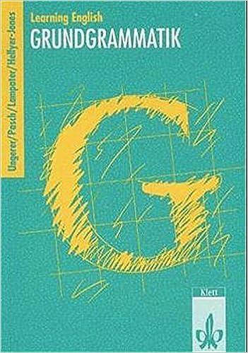Learning English, Grundgrammatik, Ausgabe
