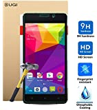 BLU Studio Energy 2 Screen protector, KuGi ? Ultra-thin 9H Hardness High Quality HD clear Premium Tempered Glass Screen Protector for BLU Studio Energy 2 2015 released 5 inch smartphone. (1 pcs)