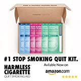 #1 Natural Stop Smoking Aid/Satisfy & Reduce Cravings/Perfect To Use With Nicotine Patches, Nicotine Gum, Lozenges, Smoking Cessation Medication
