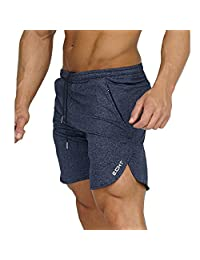 Echt Impetus Obsidian Azure Shorts Workout Fitted Training Bodybuilding With Pocket